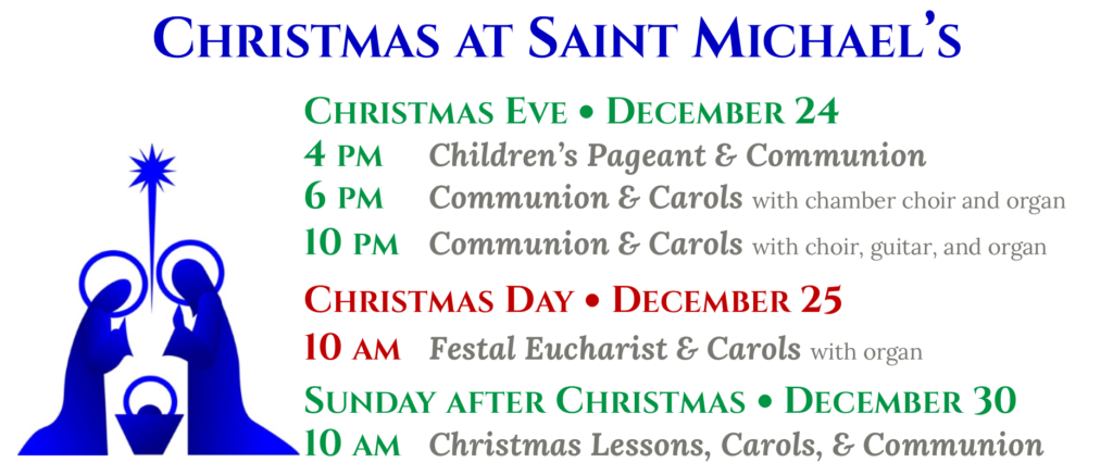 Advent & Christmas at St. Michael's